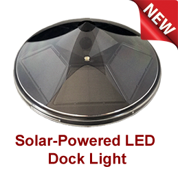 Liberty Star Solar Powered LED Dock Lighting from Orca Green Marine OGM