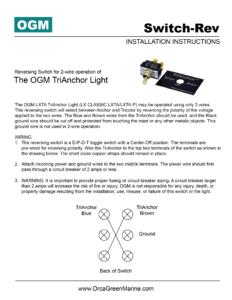 Technical Support   OGM - LED Navigation Lighting on
